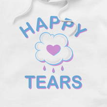 Load image into Gallery viewer, 'Happy Tears' Hoodie (White)