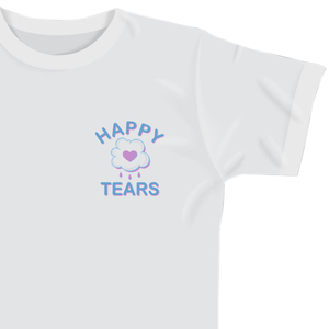'Happy Tears' T-Shirt (White)