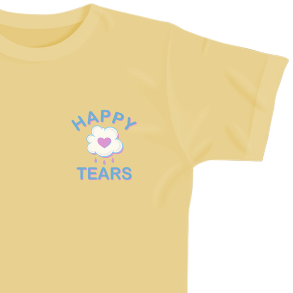 'Happy Tears' T-Shirt (Yellow)