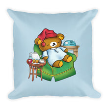 Load image into Gallery viewer, 'Sleepy-time Kuma' Pillow