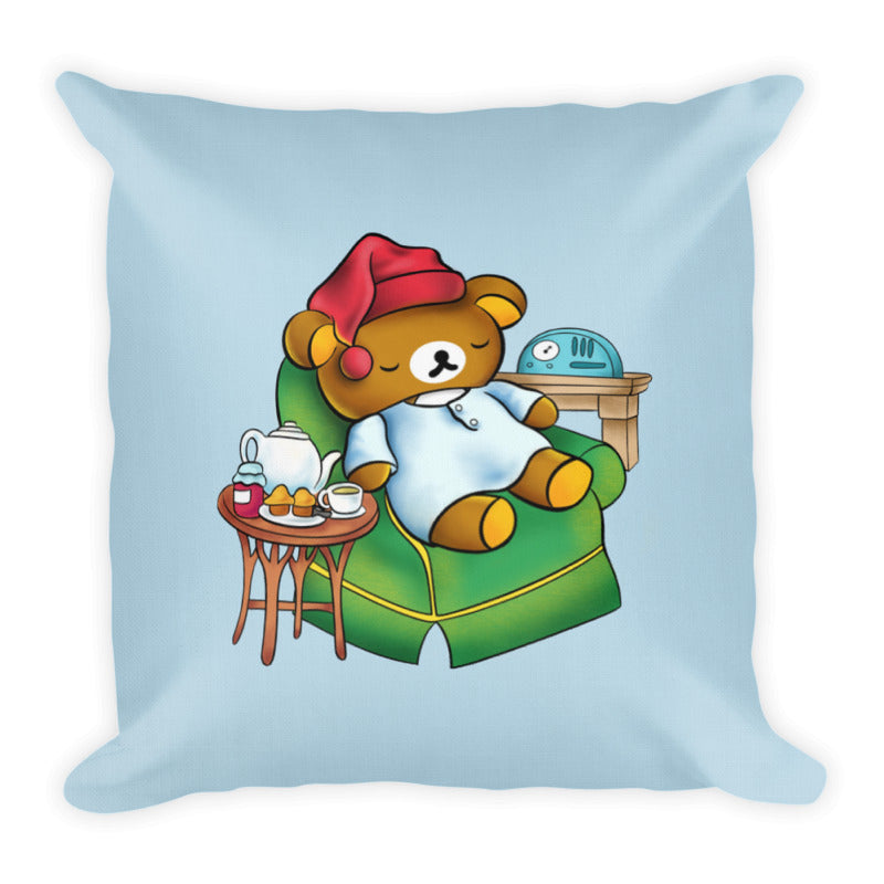 'Sleepy-time Kuma' Pillow