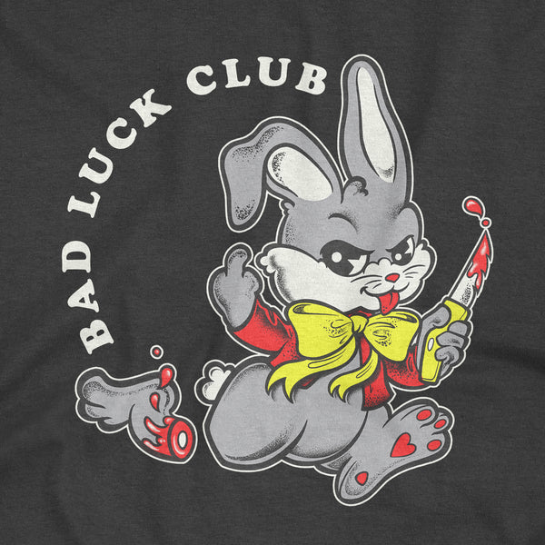 'Bad Luck Club' T-Shirt (Black)