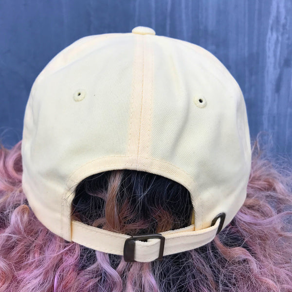 'Praying Paws' Dad Hat (Yellow)