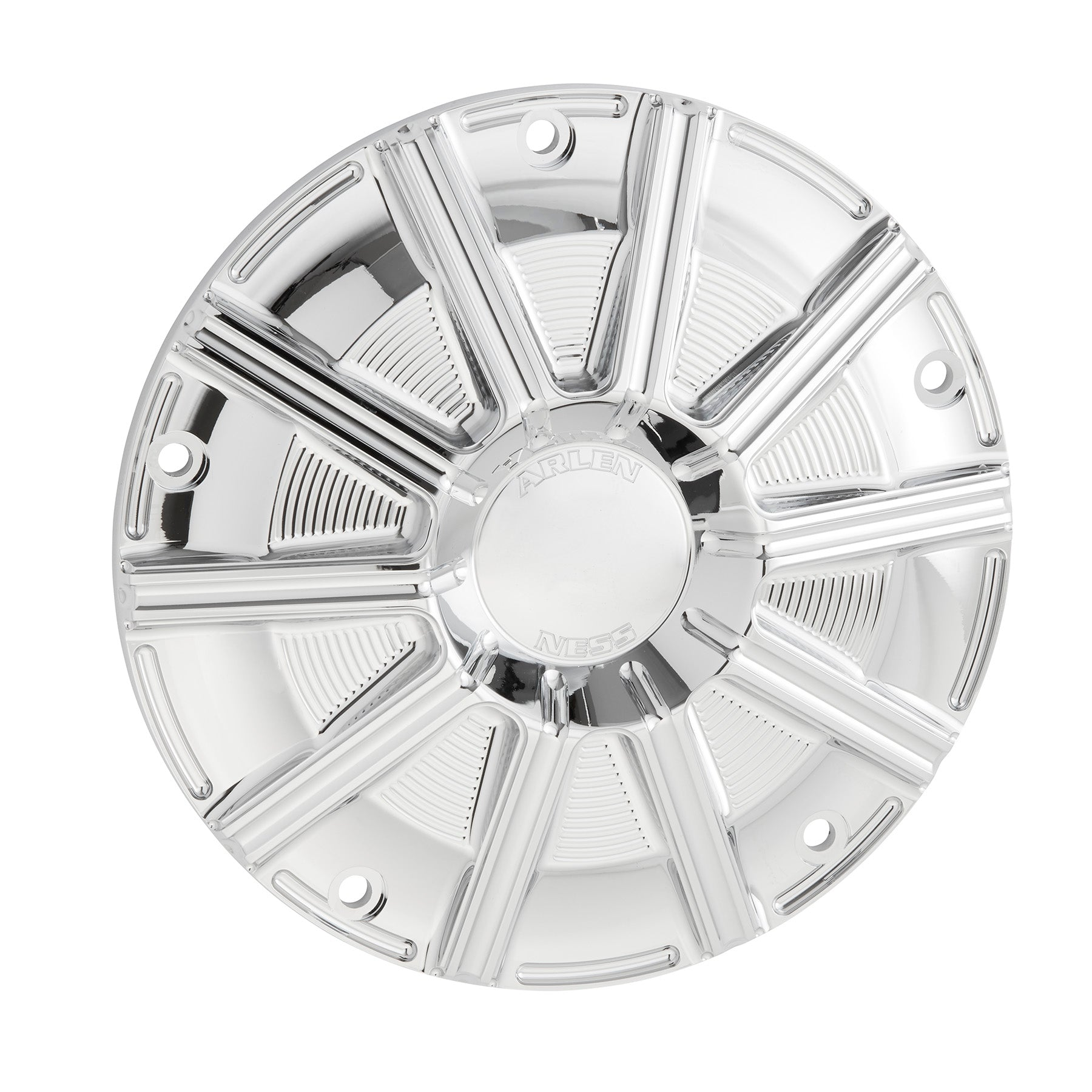 10-Gauge Derby Cover, Chrome