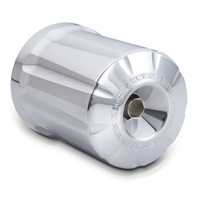 Deep Cut Re-Useable Billet Oil Filter, Chrome