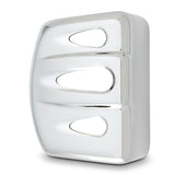 Deep Cut Coil Cover, Chrome