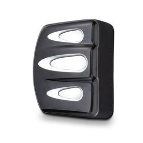 Deep Cut Coil Cover, Black