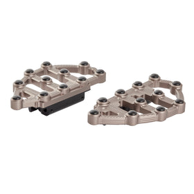 Ness-MX Passenger Floorboards, Titanium