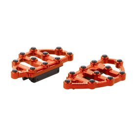 Ness-MX Passenger Floorboards, Orange