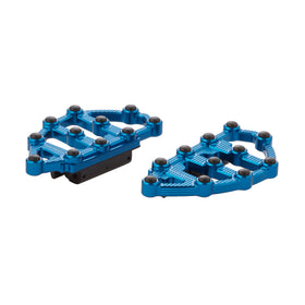Ness-MX Passenger Floorboards, Blue