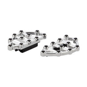 Ness-MX Passenger Floorboards, Chrome