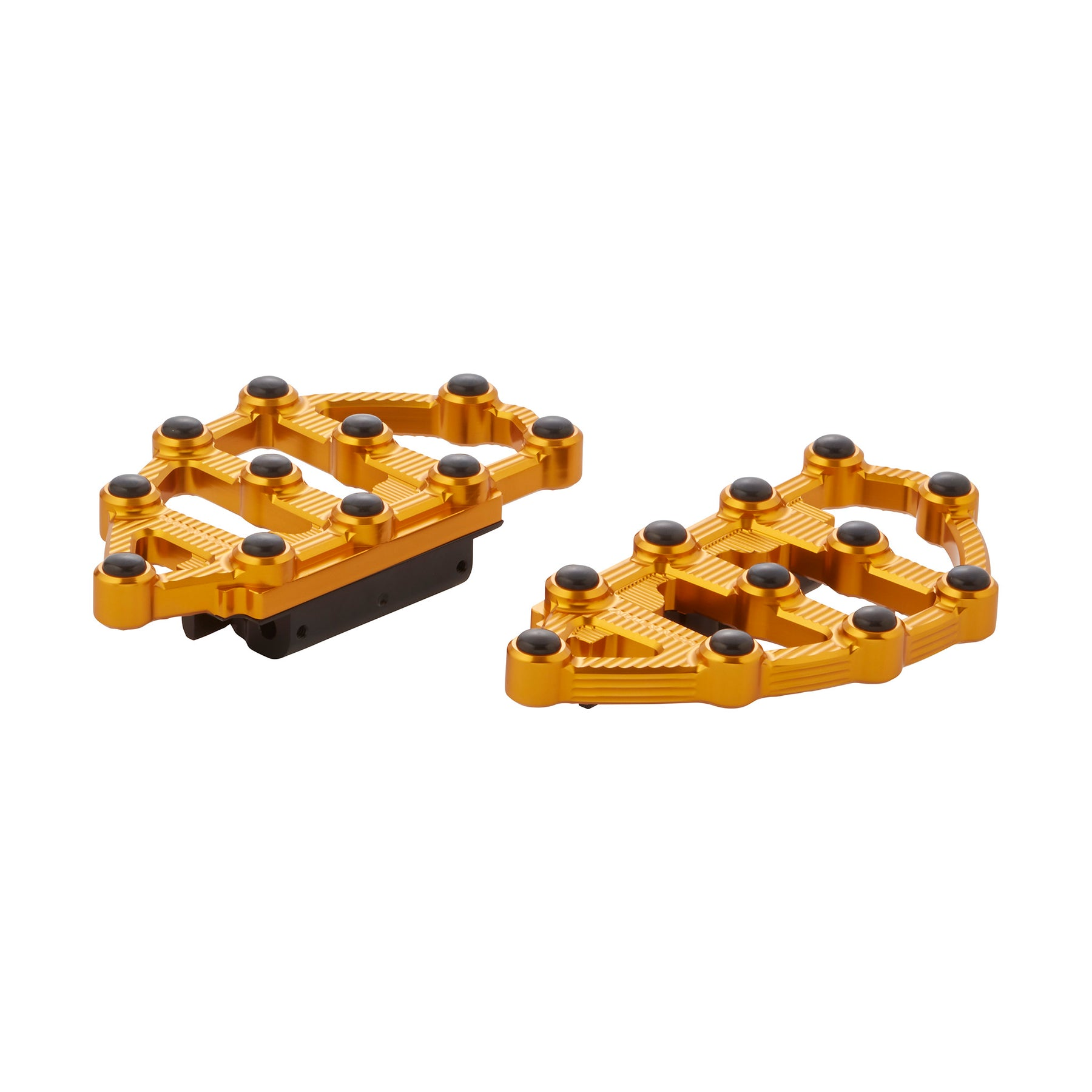 Ness-MX Passenger Floorboards, Gold