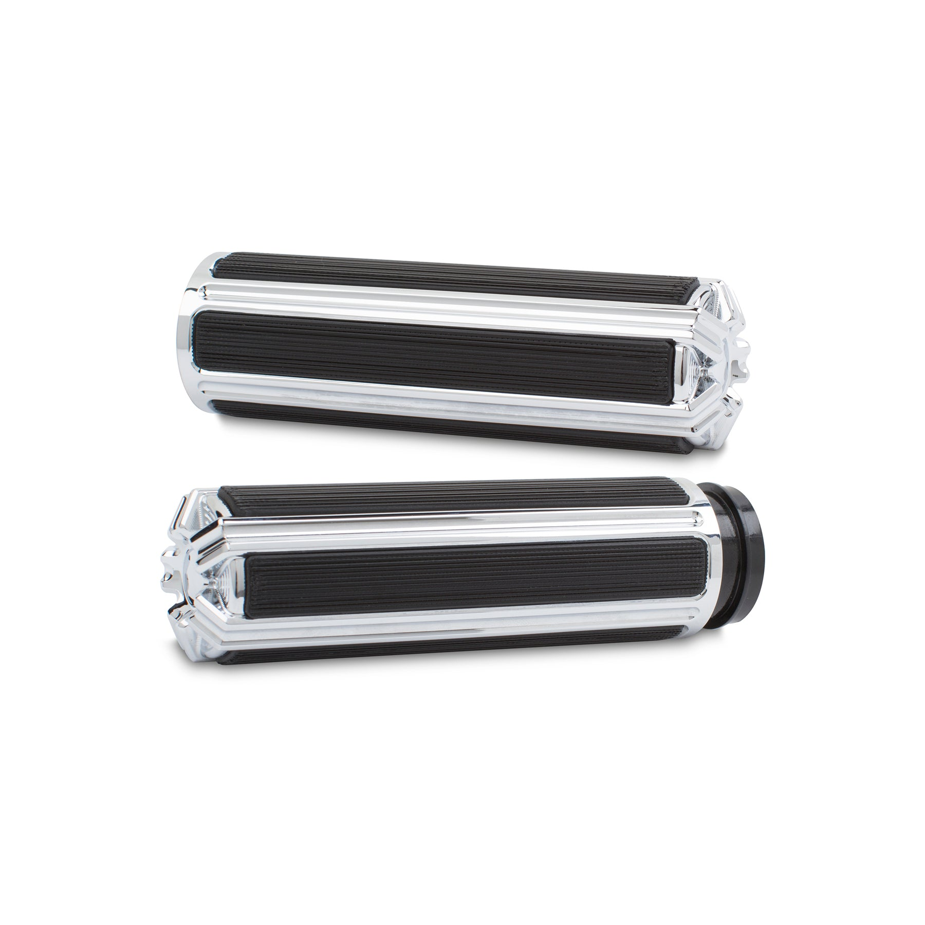 10-Gauge Comfort Grips, Chrome