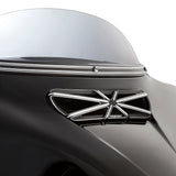 10-Gauge Fairing Vent Trim For Street Glide™, Black