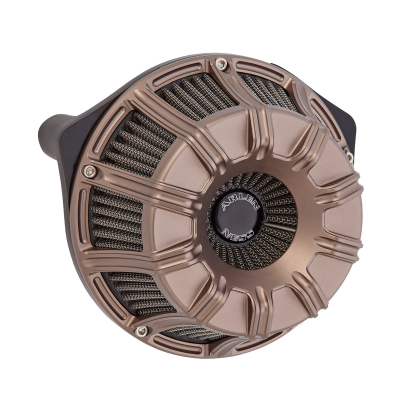 10-Gauge Inverted Series Air Cleaner, Titanium