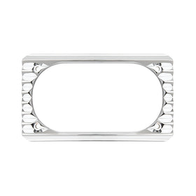 Retro License Frame, Chrome