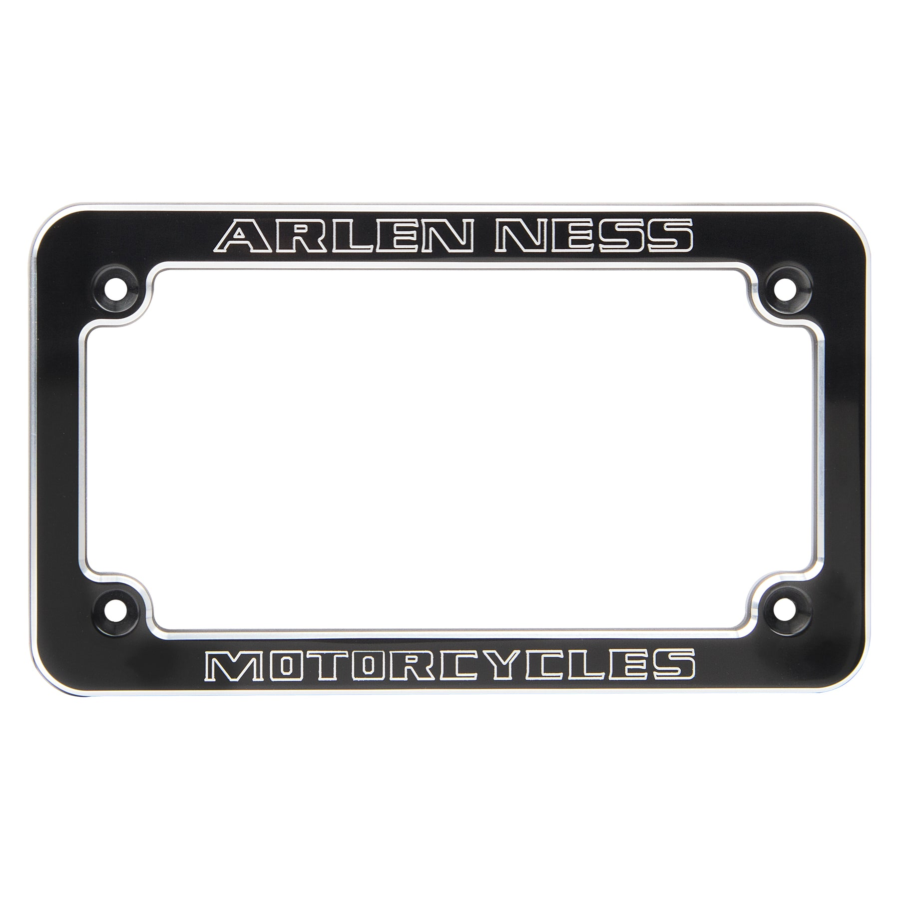 Arlen Ness Dealer License Frame, Black