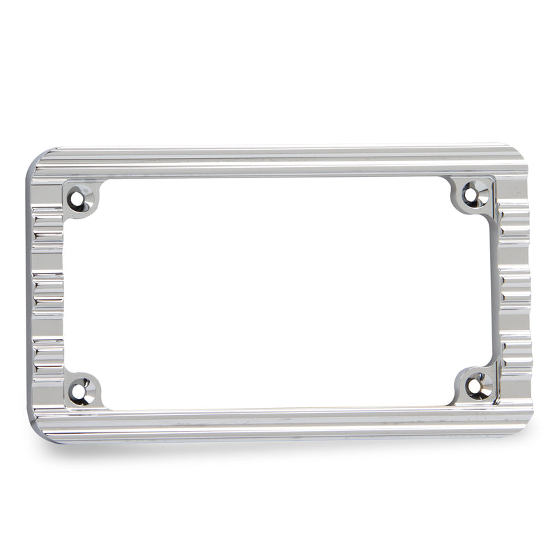 10-Gauge License Frame, Chrome