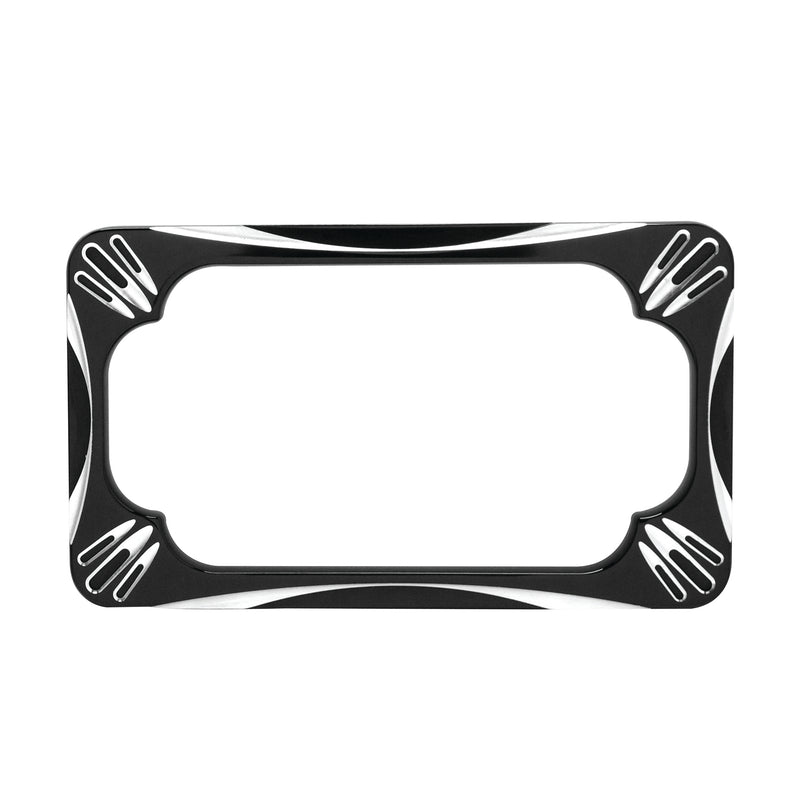 Deep Cut License Frame, Black