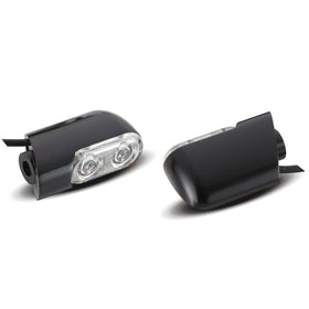 Direct Bolt-On Indicator Lights for FLT Touring, Black
