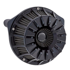15-Spoke Inverted Series Air Cleaner, Black