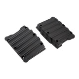 10-Gauge Twin Cam Rocker Box Covers, All Black