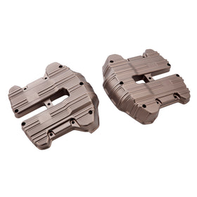 10-Gauge M8 Rocker Box Covers, Titanium