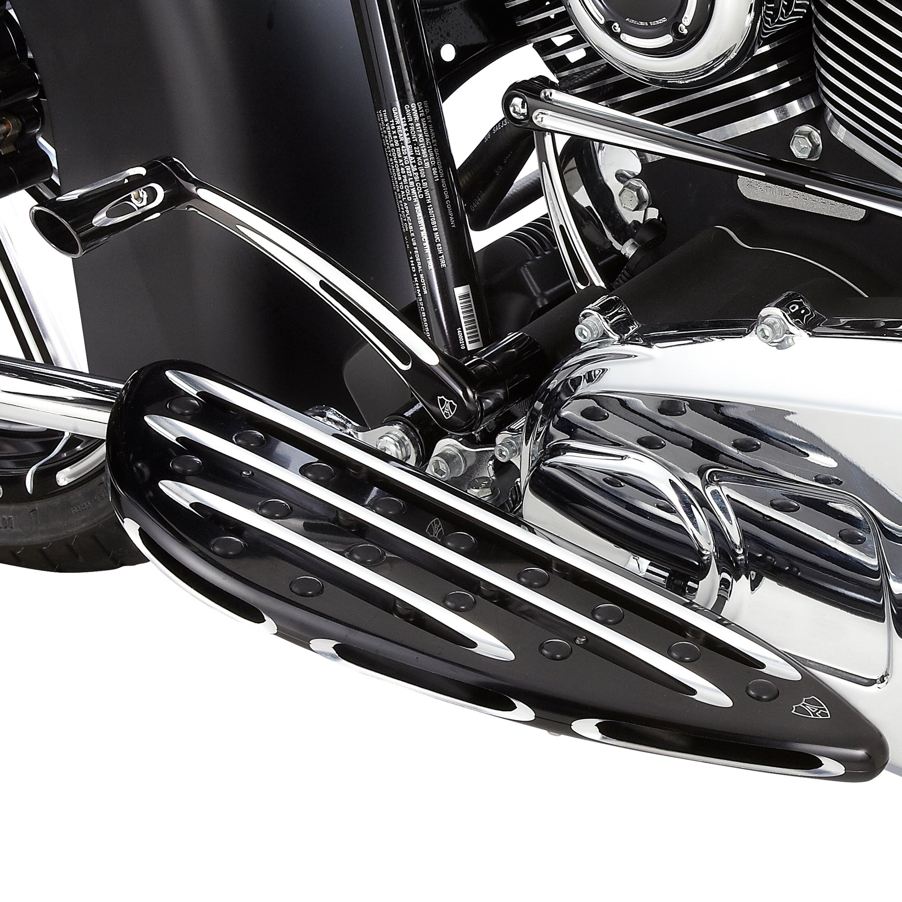 Deep Cut Inner Shift Lever, Black