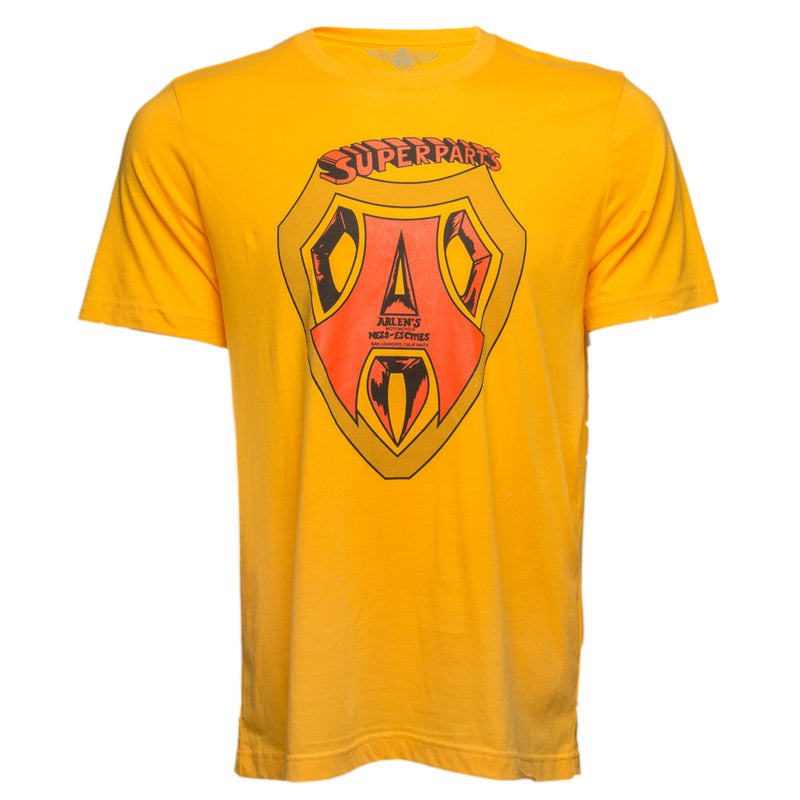Super Parts T-Shirt, Gold