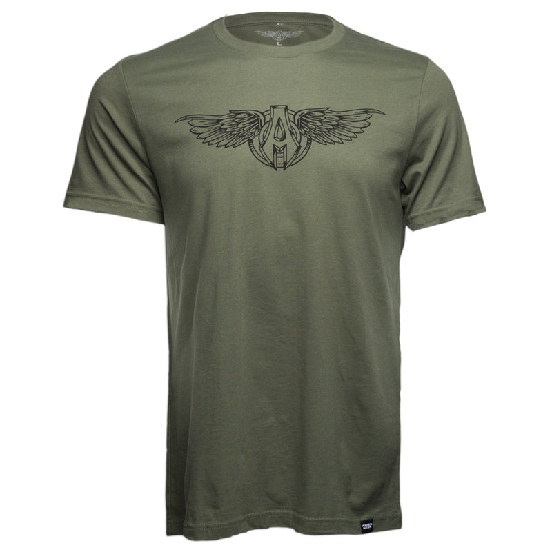 Sporty Wings T-Shirt, Green