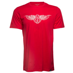 Sporty Wings T-Shirt, Red