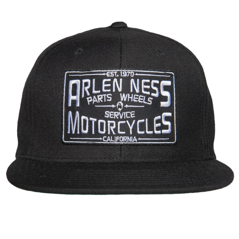 Parts & Service Snapback Hat, All Black
