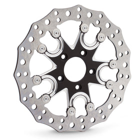Flare 5 Rear Brake Rotors for Indian®, Black