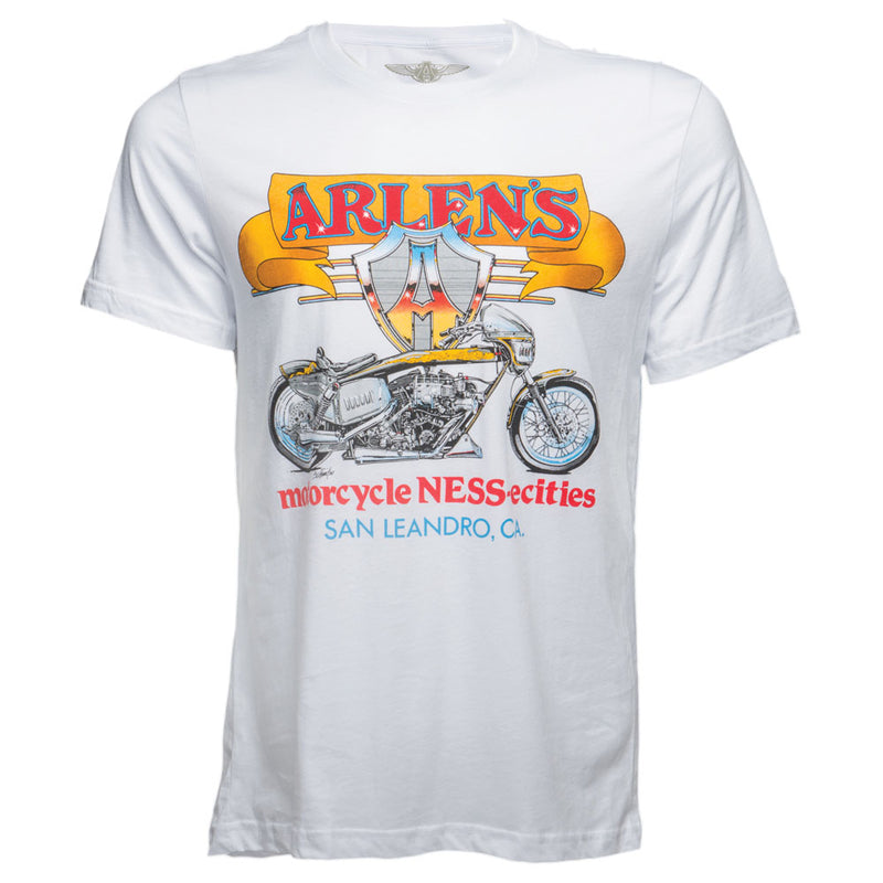 Blower Bike T-Shirt, White