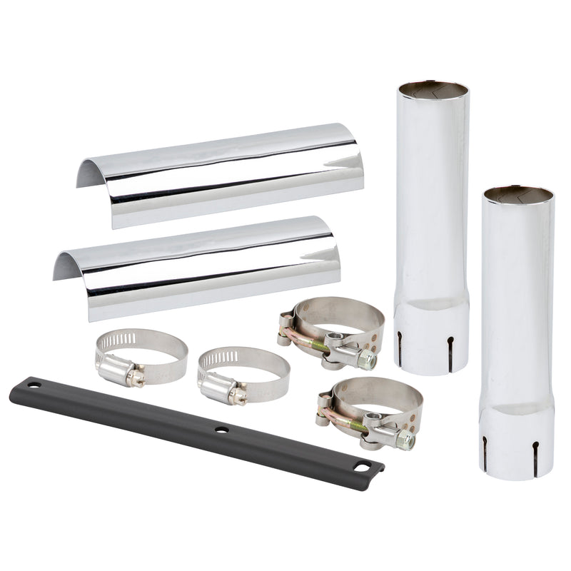 Down-N-Out Exhaust & Heat Shield Extension Kit