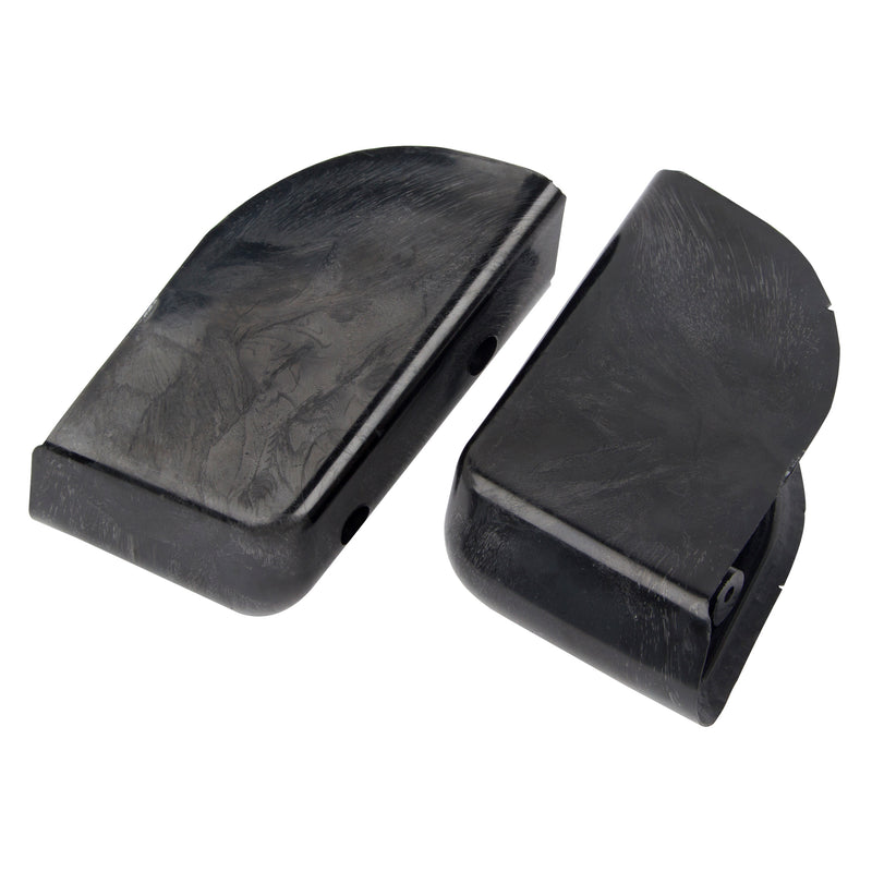 Angled ABS Saddlebag Block-off Plugs