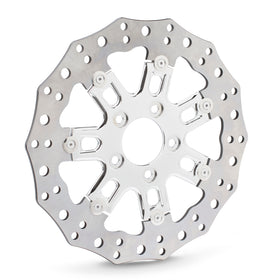 7-Valve Brake Rotors for Indian®, Chrome