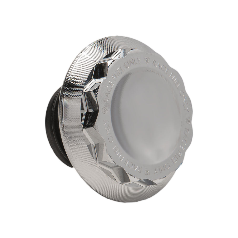 12 Point Gas Cap, Chrome
