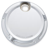 Beveled Fuel Door, Chrome
