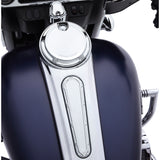 Beveled Ignition Switch Cover, Chrome
