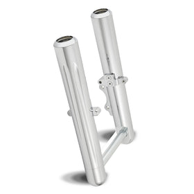 Deep Cut Chrome Fork Legs, FXD Dyna