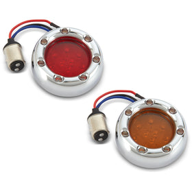 Fire Ring LED Kits for Factory Turn Signals, Chrome