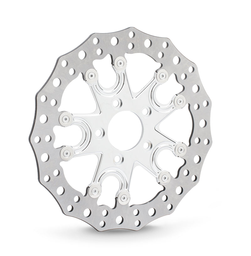 Flare 5 Brake Rotors for Indian®, Chrome