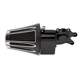 Deep Cut 90° Air Cleaner for Thunder Stoke™ Engines, Black