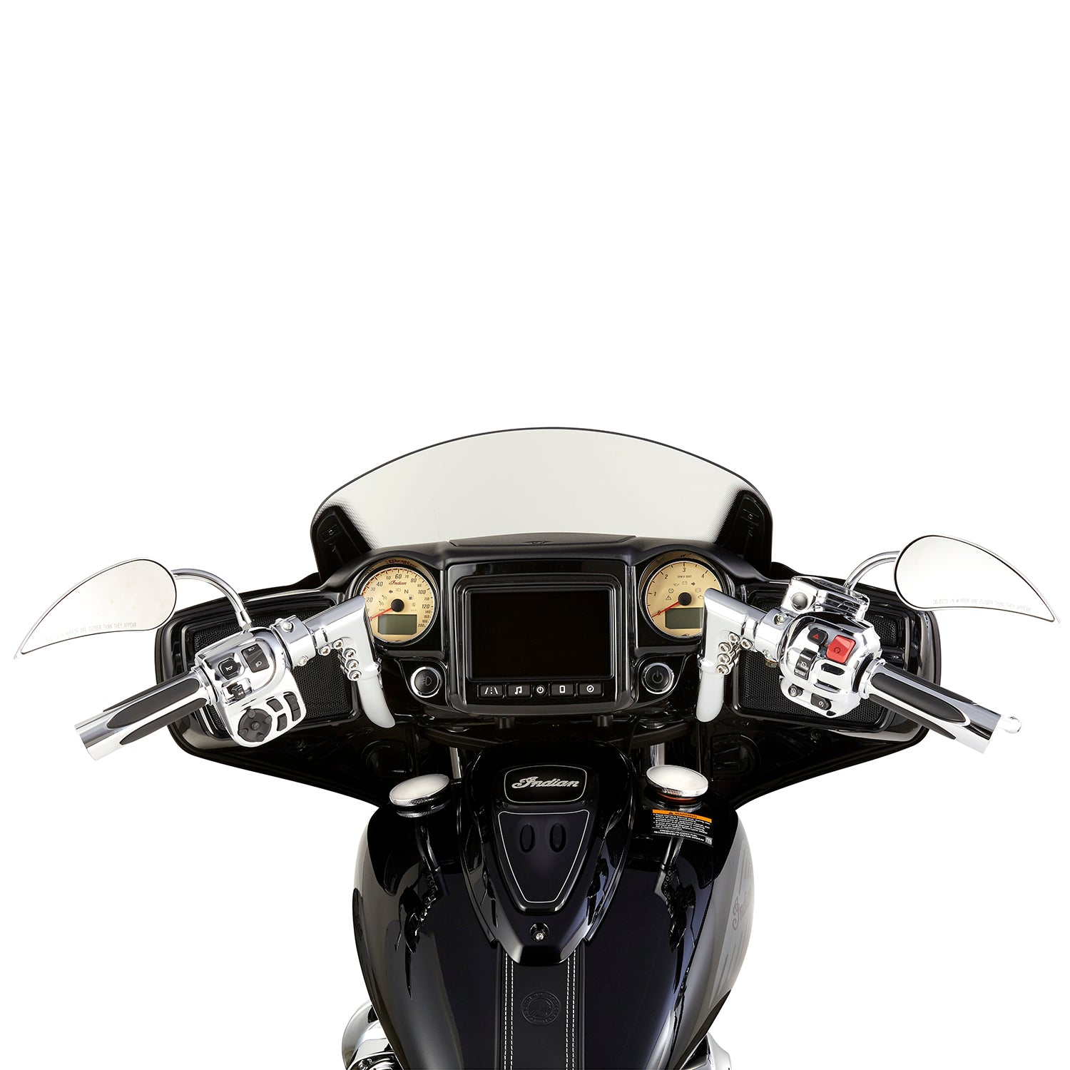 Modular Handlebars for Chieftain™, Chrome