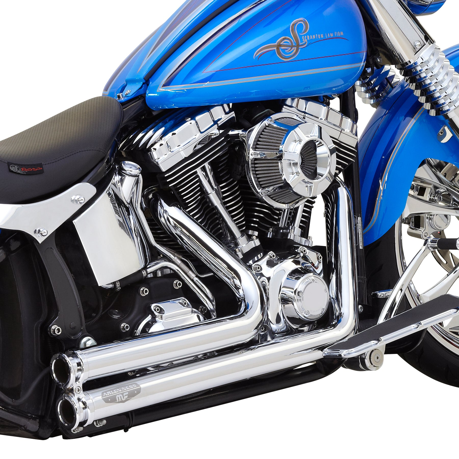 Lowdown Exhaust, Chrome