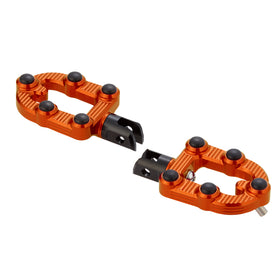 Ness-MX Footpegs, Orange