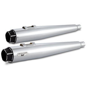 Redline Slip-On Mufflers, Chrome