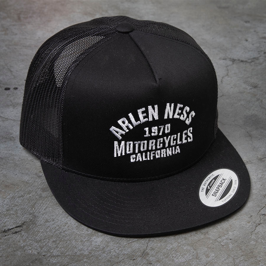 The Block Trucker Hat, Black