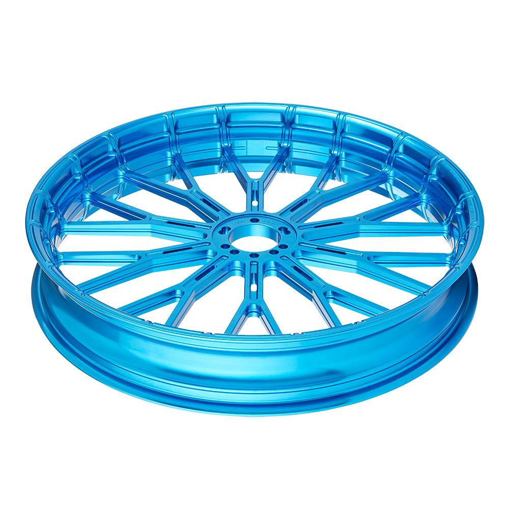 Y-Spoke Forged Wheels, Blue